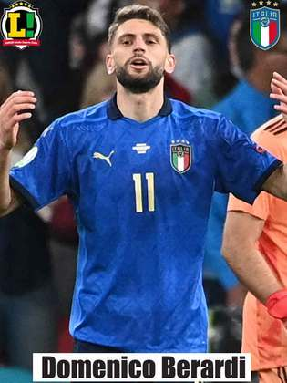 Domenico Berardi – 6,0 – Entrou na prorrogação para ajudar a equipe e criou boas chances. Converteu a cobrança de pênalti.
