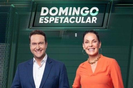 Eduardo Ribeiro e Carolina Ferraz lideram o jornalístico da Record TV