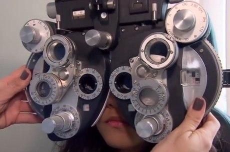 Um tipo grave de miopia pode ultrapassar a marca de seis graus na vista