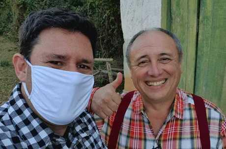 Pedro Bismarck conta conta ao repórter Michael Keller como vive hoje, fora da TV
