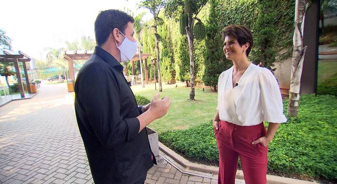 Mariana Godoy e Sergio Aguiar falam sobre a estreia do novo Fala Brasil