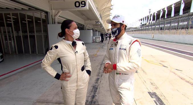 Diretamente do Autódromo de Interlagos, Caio Castro fala sobre a paixão pelo automobilismo