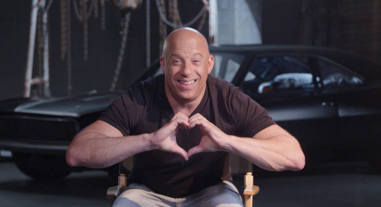 O ator Vin Diesel recorda com carinho das visitas ao Brasil