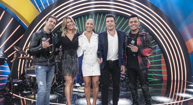 Bruno Sutter, Lorena Improta, Sabrina Sato, Ceará e Felipe Araújo