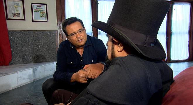 Geraldo Luís conversou com José Mojica Marins