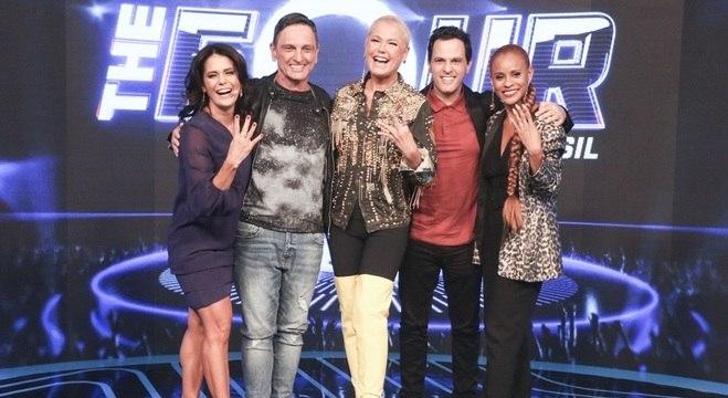 Xuxa e os jurados do 'The Four Brasil' anteciparam que a disputa será acirrada