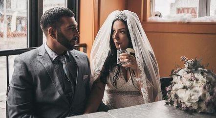 Dominic e Mary tiveram o casamento dos sonhos