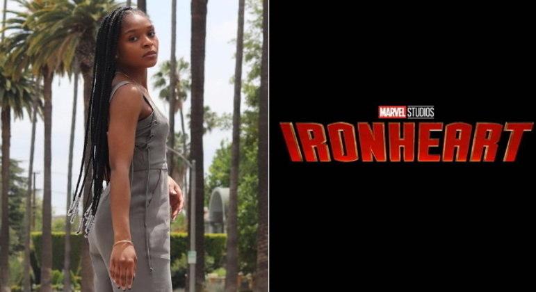 Dominique Thorne (Riri Williams)A atriz Dominique Thorne viverá a genial inventora Riri Williams na série Coração de Ferro, ou Ironheart em inglês. Riri já é conhecida nos quadrinhos e fará sua estreia nas produções da Marvel.A série Coração de Ferro está prevista para estrear em 2023