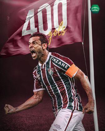 Fred marcou seu gol de número 400 na vitória do Fluminense contra o Nova Iguaçu, no último domingo (11), e entrou pra essa lista seleta de craques em atividade com mais de 400 tentos anotados