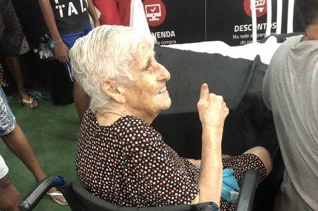 Dona Benita relembrou os anos 40