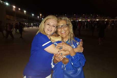 Sílvia conheceu Dona Salomé durante uma partida do time