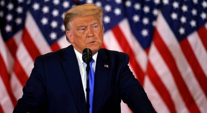 Discurso de Trump não será aberto para a imprensa