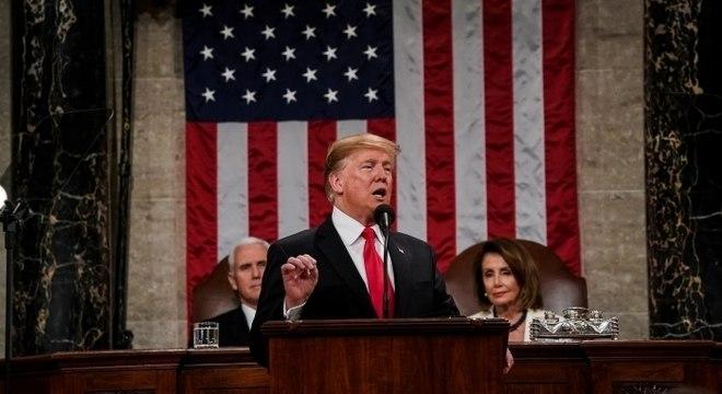 Fact checks apontam que Trump incorreu em exageros durante discurso