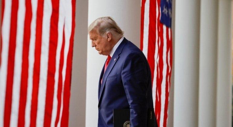 Donald Trump anunciou que não irá à posse de Joe Biden