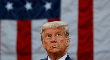 Na imagem, ex-presidente dos EUA Donald Trump
