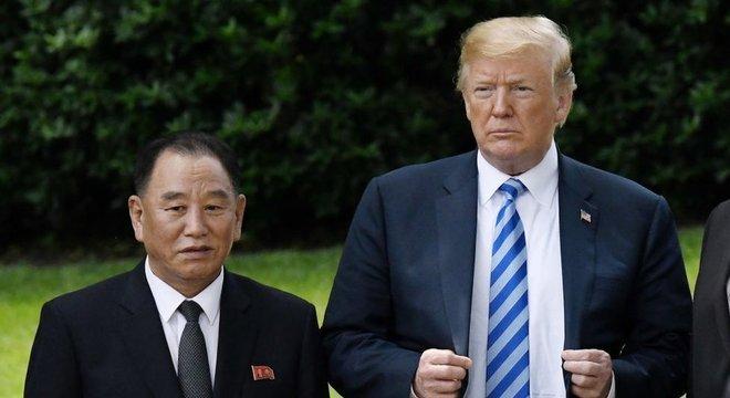 Kim Yong-chol viajou a Washington (EUA) para se encontrar com Donald Trump