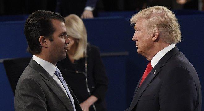 Filho mais velho de Donald Trump alertou Partido Republicano que ele não pode ignorar as vozes dos seguidores de seu pai