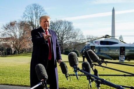 Trump ameaçou declarar emergência nacional