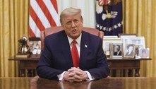 Após impeachment, Trump pede 'fim da violência' a apoiadores