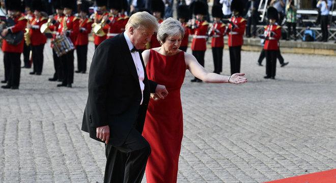 Em entrevista ao The Sun, Trump diz que o ex-ministro das Relações Exteriores Boris Jonhson, que reuniciou esta semana, seria um ótimo primeiro ministro