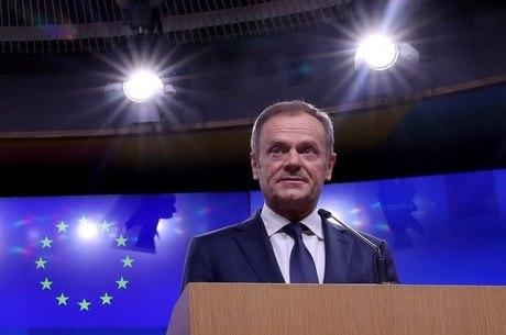 Donald Tusk criticou ausência de plano para o Brexit
