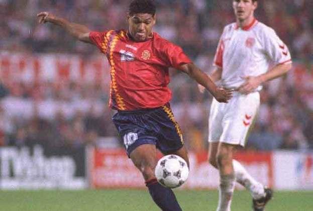 Donato (Espanha) - O ex-zagueiro Donato, com passagem pelo América e Vasco, fez uma consistente carreira na Espanha. Ele é ídolo do Deportivo La Coruña - também defendeu o Atlético de Madrid. Donato se naturalizou espanhol e jogou a Eurocopa de 1996.