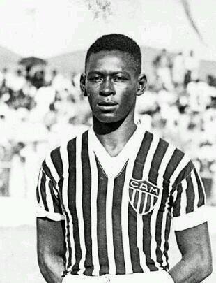 Dondinho no Atlético Mineiro. Contusão no joelho frustrou carreira promissora