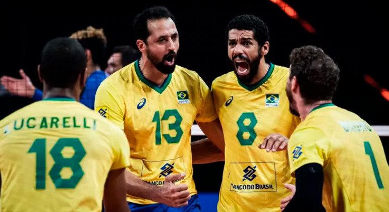 Brasil é um dos grandes favoritos ao ouro no vôlei masculino