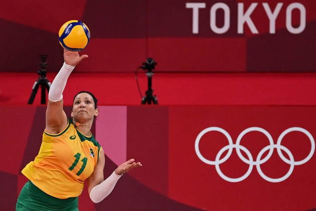 DOPING - Tandara foi suspensa dos Jogos Olímpicos. A oposta brasileira cometeu uma