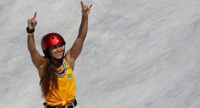 Dora Varella representou o Brasil na primeira participação do skate em uma Olimpíada
