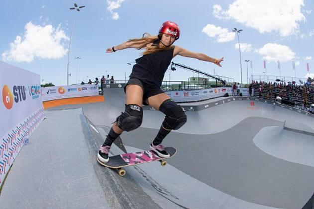 Dora Varella é o segundo nome da chave feminina no skate park brasileiro e vai brigar no topo por uma medalha.