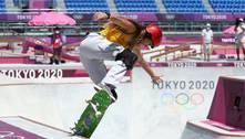 Dora Varella e Yndiara Asp ficam sem medalha no skate park
