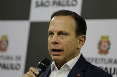 Doria minimiza polêmica de saída do cargo para disputar eleição