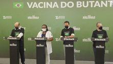 Doria celebra 'Dia D' da vacina após 1ª imunização em São Paulo