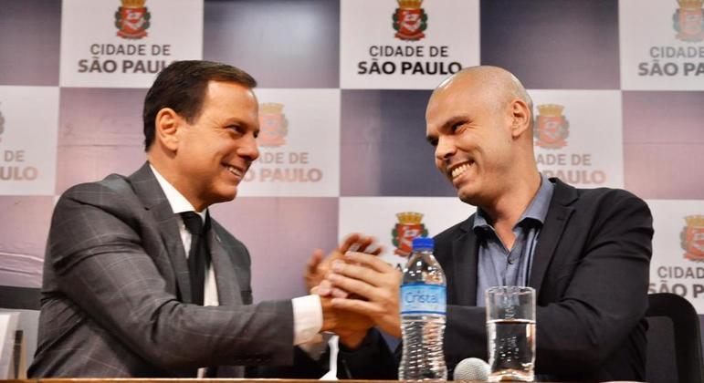 Governador João Doria (PSDB) lamenta morte de Bruno Covas, morto neste domingo (16)