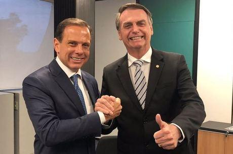 Doria e Bolsonaro se reuniram em Brasília