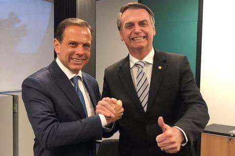Em Davos, Doria tenta descolar sua imagem de Bolsonaro