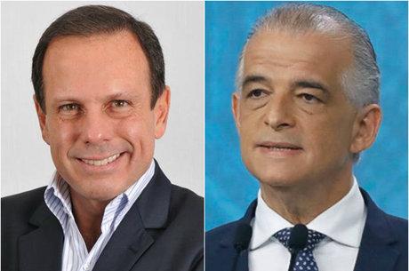 Doria e França avançam na disputa pelo governo de SP