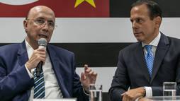 João Doria confirma Henrique  Meirelles na Secretaria da Fazenda de São Paulo ()