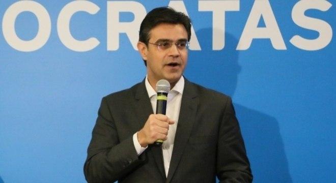 Rodrigo Garcia (DEM) falou em coletiva, nesta segunda-feira (17)