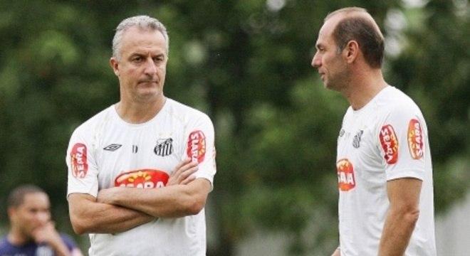 O escândalo de Neymar acabou por separar a dupla Dorival e Ivan