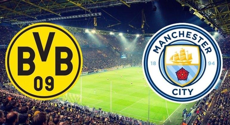 Borussia Dortmund X Manchester City, na ida 1 X 2