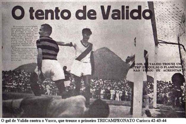 Dos 44 gols do atacante argentino, o mais importante foi o da vitória sobre o Vasco em 1944 que garantiu o primeiro Tri Carioca do Flamengo. No total, ele disputou 143 jogos, entre 1937 a 1944.