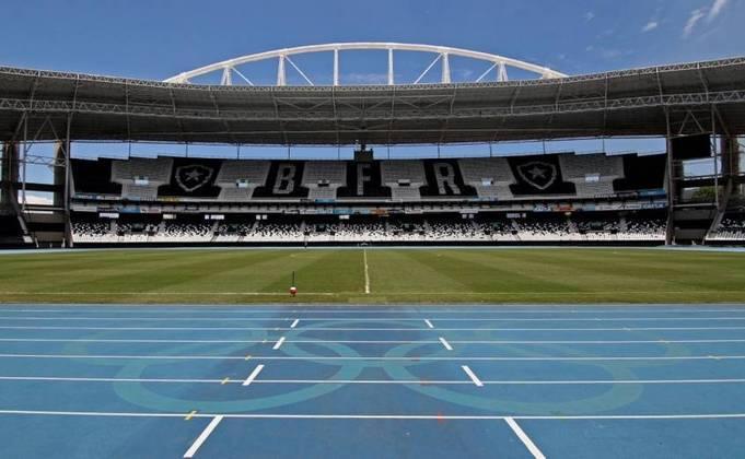 Dos dez primeiros jogos do Botafogo na Série B do Brasileirão, quatro serão no Estádio Nilton Santos. Consequentemente, o Alvinegro jogará 60% dos primeiros compromissos fora de casa