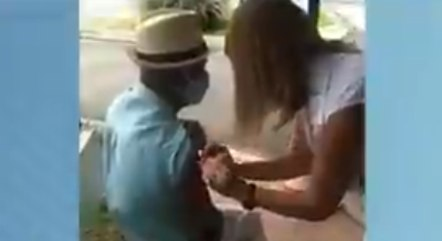 Vídeo gravado pelo neto da vítima revelou o erro