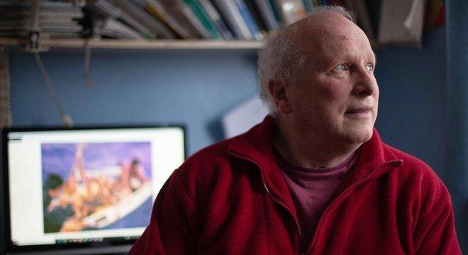 Douglas Robertson, hoje com 65 anos, foi jogado ao mar quando o iate da família foi atingido por baleias assassinas