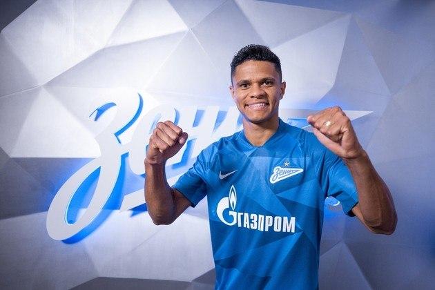 Douglas Santos - Time: Zenit (Rússia) - Posição: Lateral-esquerdo - Idade: 27 anos - Contrato até: 30/06/2024