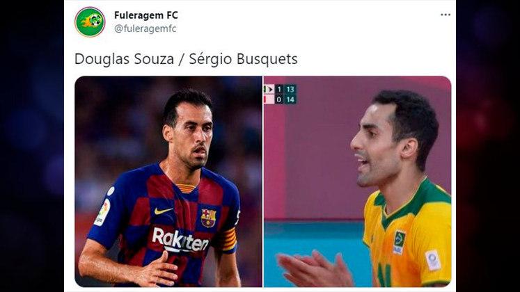 Douglas Souza, atleta do vôlei masculino e fenômeno nas redes sociais, ganhou comparação inusitada
