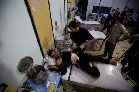 Inspetores da Opaq já estão em Douma