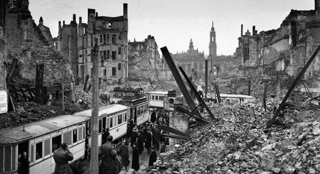 Dresden em 1946
